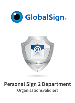 GlobalSign Personal Sign 2 Department
