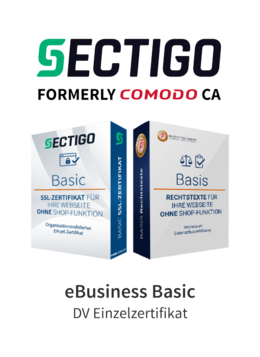 Sectigo eBusiness Basic