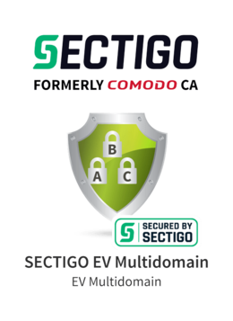 Sectigo EV Multidomain