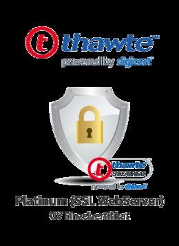 Thawte Platinum (SSL WebServer)